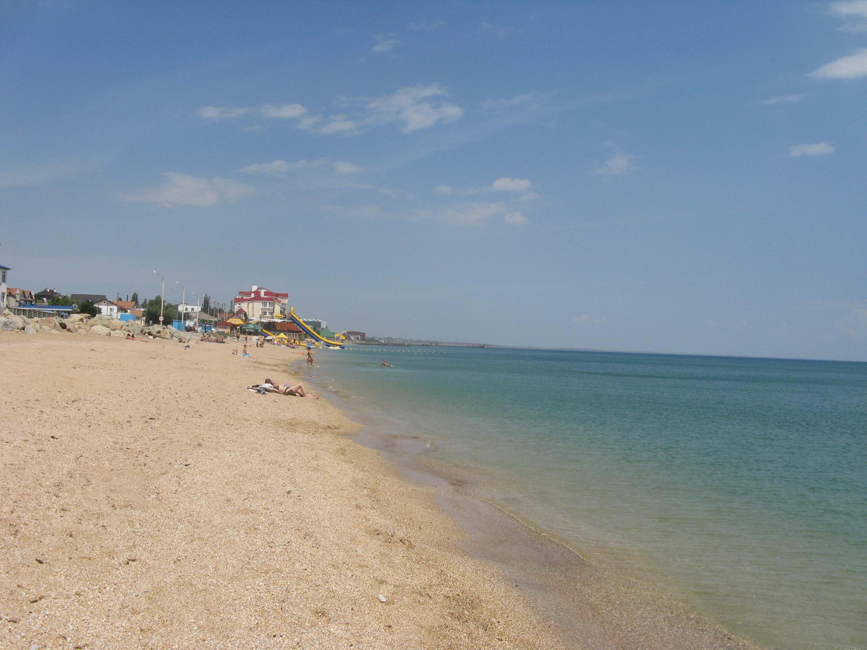 Фото пляжа пгт приморский крым